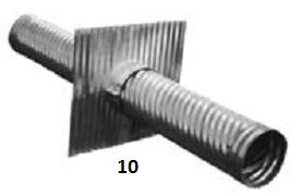 10. ANTI-SEEP COLLAR